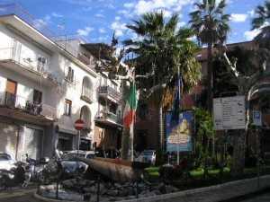 Il centro di Massalubrense