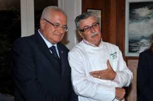 R. Lauro con A. Iaccarino