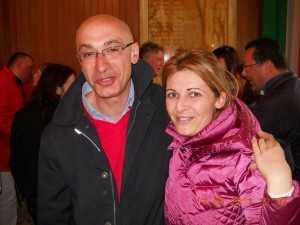 Vincenzo Iaccarino e Rossella Russo