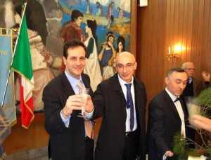 Brindisi pre-elettorale tra Ruggiero e Iaccarino