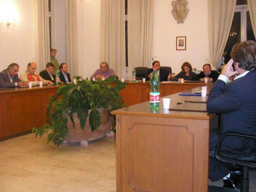 Consiglio Comunale dell'1 giugno 2009 quando Antonino Castellano era ancora Assessore