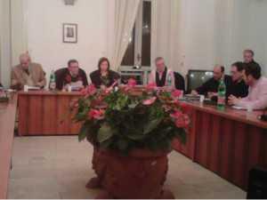 Gianni Salvati presiede il Consiglio Comunale del 4 gennaio 2011