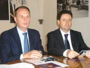 Giuseppe Cuomo e Pietro Sagristani