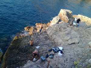 Pescatori alla Pignatella (Foto WWF)