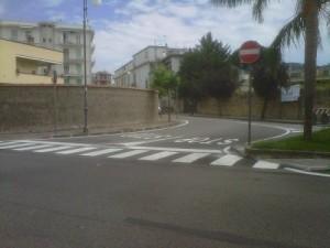 Via Ciampa incorcio con Via San Sergio
