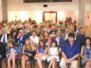 Pubblico a un evento a Villa Fondi
