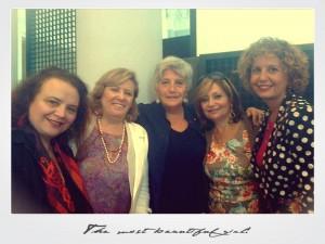 Lucia Gargiulo con le altre consigliere di parità