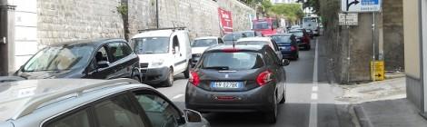 Traffico su Corso Italia - S.Agnello Piano di Sorrento