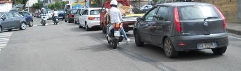 Traffico a Via F. Ciampa - S.Agnello