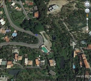 Vista satellitare - Foto WWF