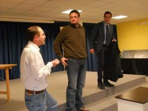 Luigi Cuomo, Daniele Acampora e Giovanni Ruggiero