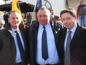 Giuseppe Cuomo, Pasquale D'Aniello, Pietro Sagristani