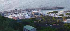 Marina della Lobra prima dell'intervento - foto WWf