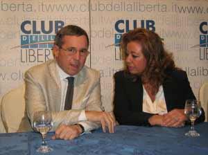 Giorgio Stracquadanio e Flora Beneduce