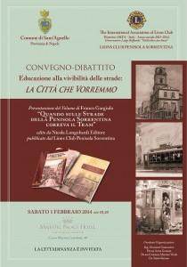 Invito - I Lions e Sant'Agnello sulla vivibilità stradale