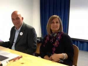 Michele Cinque e Mariella Nica