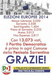 Voti PD Europee