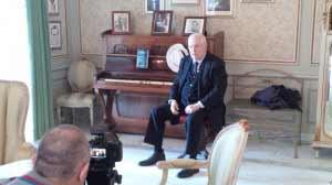 Raffaele Lauro nella Suite Caruso