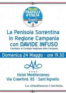 INVITO incontro con Davide Infuso Domenica 24 maggio 2015