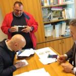 Iaccarino e D'Aniello firmano la candidatura