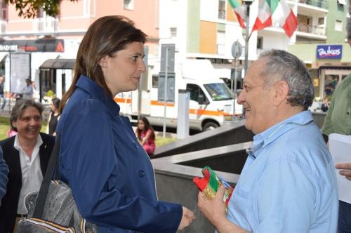 Rossella Russo con Carlo Pepe