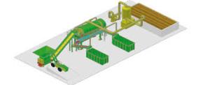 Un impianto di compostaggio