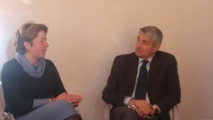 Maria Laura Gargiulo e Massimo Costa
