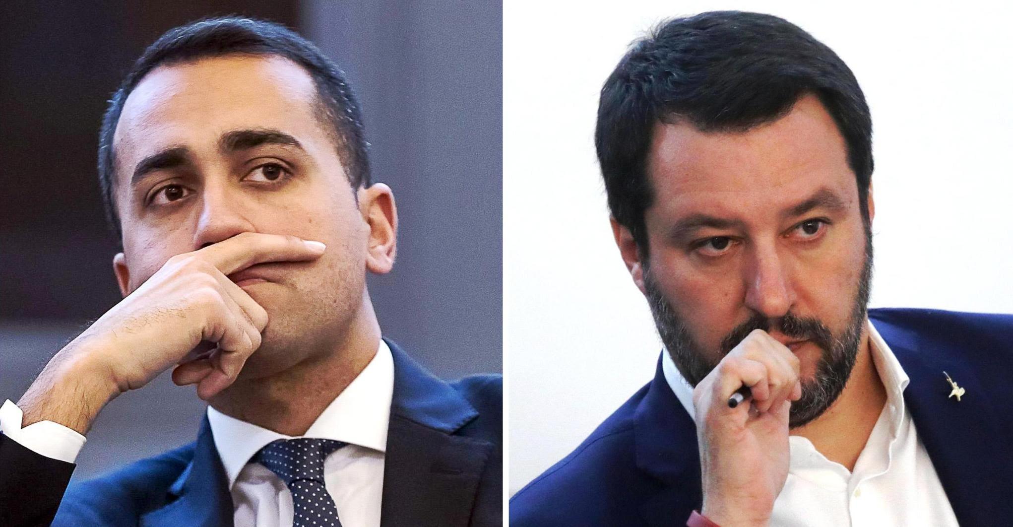 L. Di Maio e M. Salvini