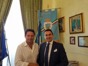 Piergiorgio Sagristani e Alfonso Longobardi