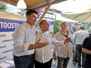 Mario Gargiulo, Mariano Pontecorvo, Antonino Castellano