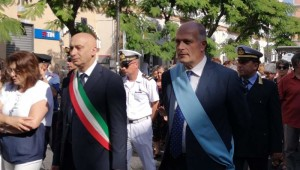 Sindaco e Presidente del CC in Processione