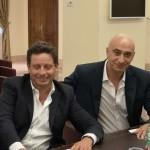 Piergiorgio Sagristani e Vincenzo Iaccarino