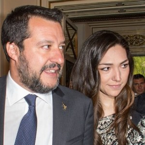 Salvini con Francesca Verdini