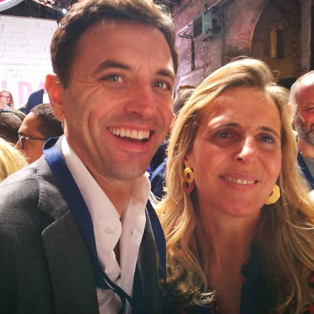 Giovanna Staiano e Ciro Buonaiuto