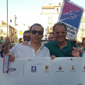 "Massimo Trignano al ""Gay Pride"" a Sorrento"