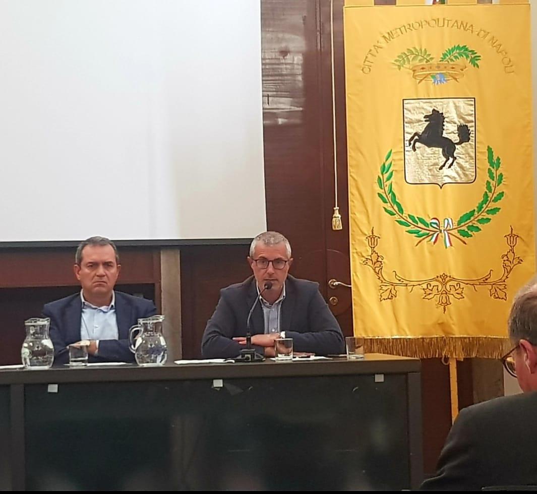 Luigi de Magistris e Giuseppe Tito
