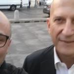 Lello con Augusto Minzolini