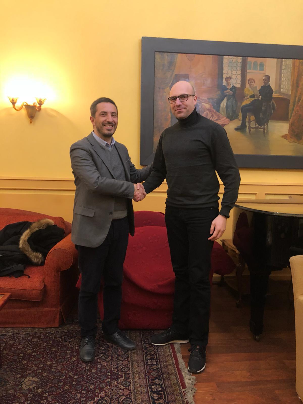 Agostino Ingenito e Marcello Coppola