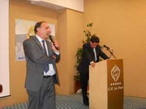 Confronto Orlando-Sagristani alla convention dell'Hotel La Pace del 7 ottobre 2011