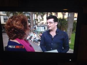 Antonio D'Aniello intervistato a Presa Diretta