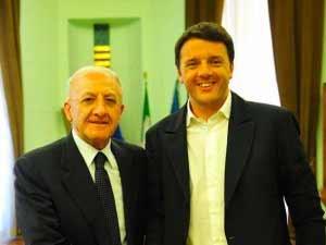 Renzi e De Luca