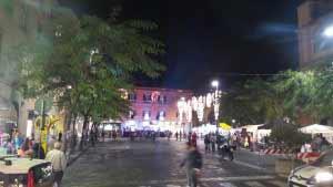 Piazza Cota la tamorra foto di Diego Ambruoso