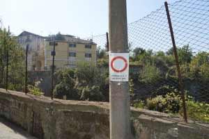 Ponte Orazio divieto