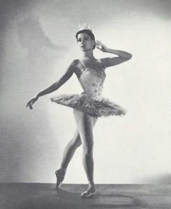 Violetta Elvin in una foto degli anni 50