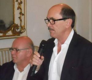 R. Fiorentino con Procuratore De Raho