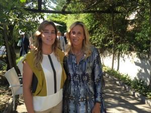 Maria Elena Boschi e Giovanna Staiano
