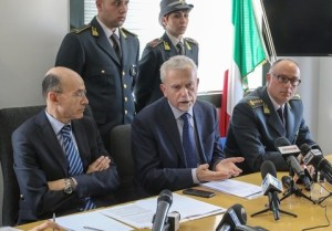 Conferenza Stampa della Procura di Napoli