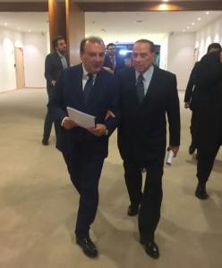 Martusciello e Berlusconi