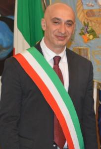 Vincenzo Iaccarino con fascia