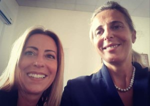 Lucia Fortini e Giovanna Staiano
